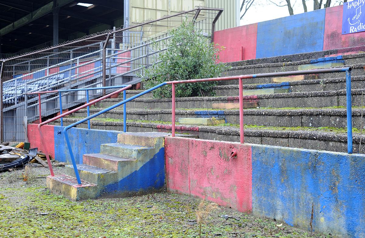 Het Haarlemstadion aan de Jan Gijzenkade.