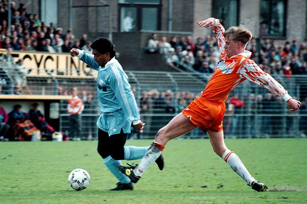 In actie tegen FC Volendam (1992, credits: Pro Shots/Stanley Gontha)