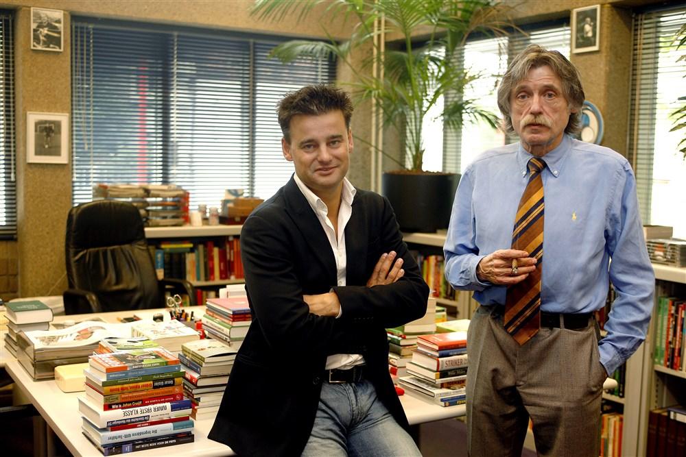 Johan Derksen en Wilfred Genee