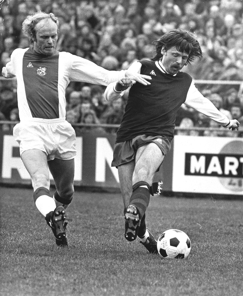 Johan Derksen als voetballer