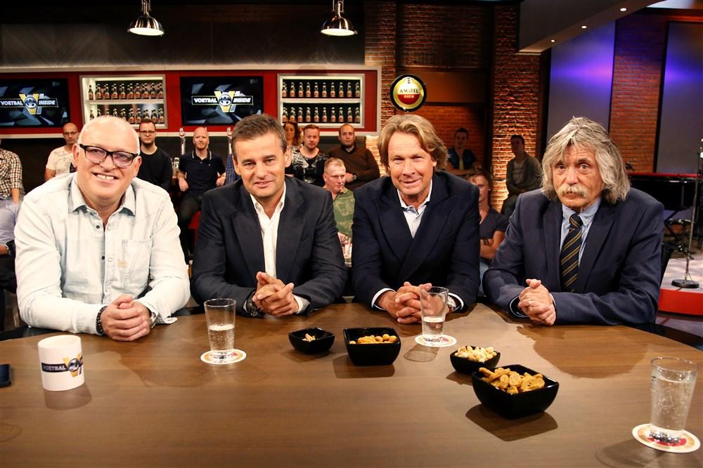Johan Derksen en zijn VI-collega's