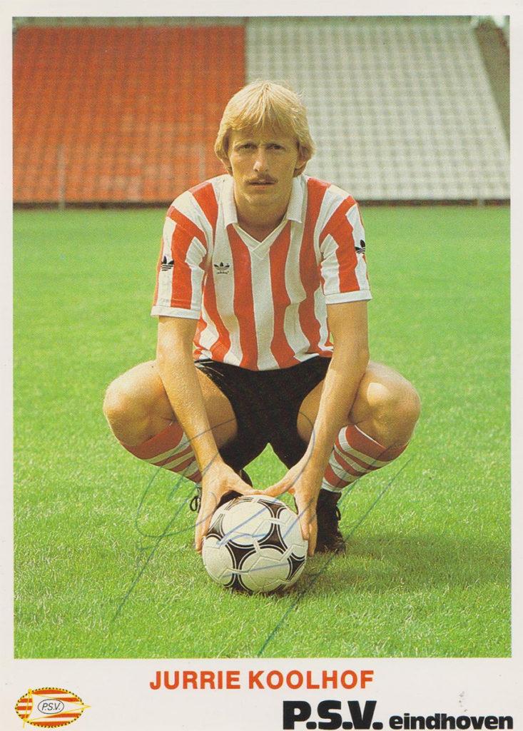 Jurrie Koolhof in zijn PSV-tijd