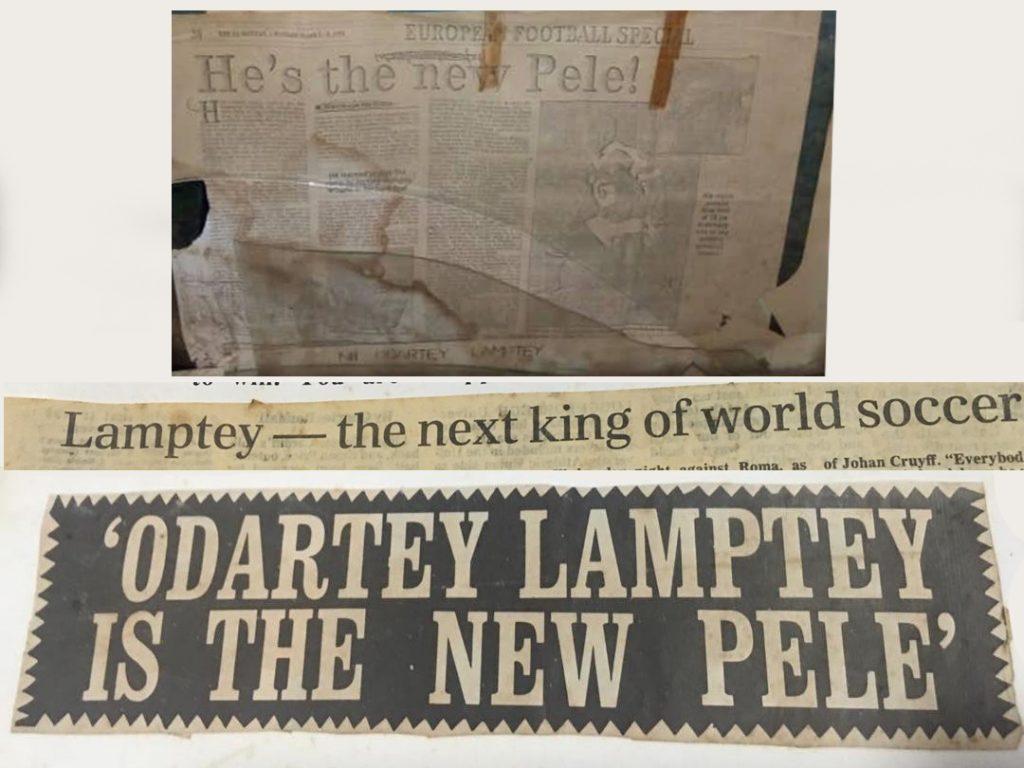 De krantenkoppen na de beruchte woorden van Pelé
