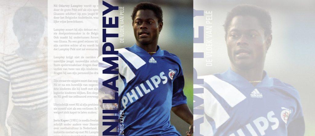 Nii Lamptey - De Vloek van Pelé is nu te bestellen